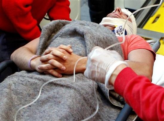 Некотроые попали в местную больницу в крайне тяжелом состоянии